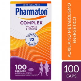 PHARMATON COMPLEX CAPSULAS GEL COM 100