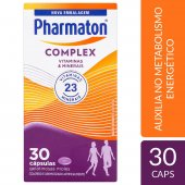 PHARMATON COMPLEX CAPSULAS GEL COM 30