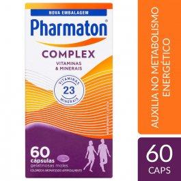 PHARMATON COMPLEX CAPSULAS GEL COM 60