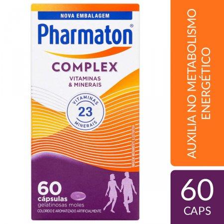Pharmaton Complex com 60 Cápsulas   Drogasil.com Foto 2
