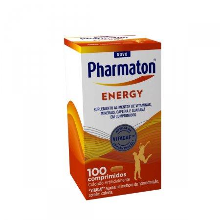 PHARMATON ENERGY 100 COMPRIMIDOS