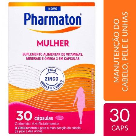 PHARMATON MULHER 30 CAPSULAS