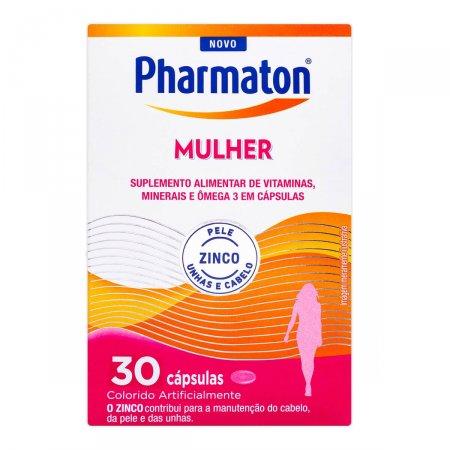 Pharmaton Mulher com 30 Cápsulas | Drogasil.com Foto 1