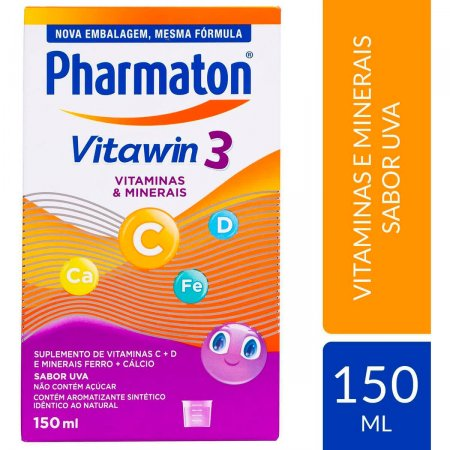PHARMATON VITAWIN KIDS COMPLEXO VITAMINICO 150ML