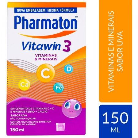 Pharmaton Vitawin 3 Sabor Uva