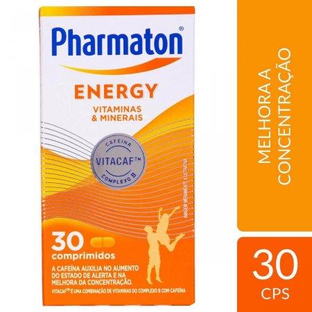 PHARMATON ENERGY 30 COMPRIMIDOS