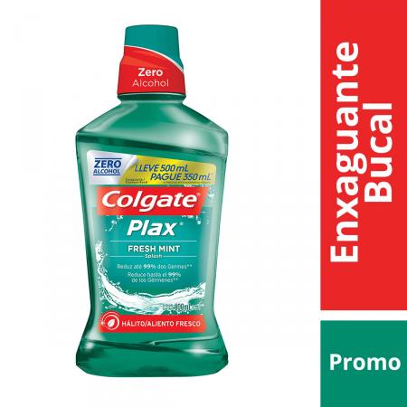 Enxaguante Bucal Colgate Plax Fresh Mint