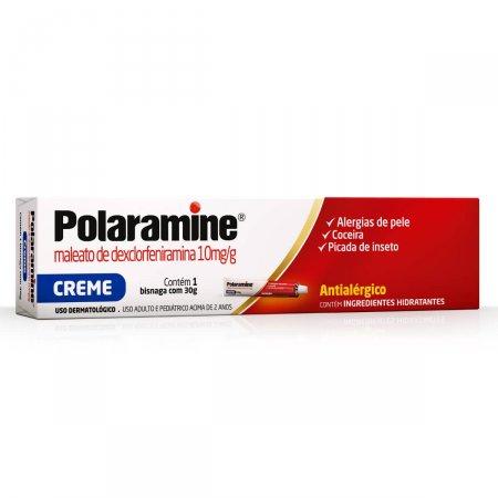 POLARAMINE CREME DERMATOLOGICO 30G