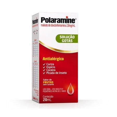 POLARAMINE GOTAS 2,8MG/ML 20ML