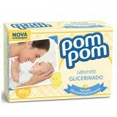 Sabonete Infantil Pom Pom Glicerinado