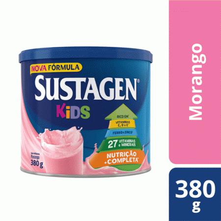 Suplemento Alimentar Sustagen Kids Sabor Morango