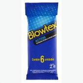 BLOWTEX PRESERVATIVO ACTION COM 6 UNIDADES