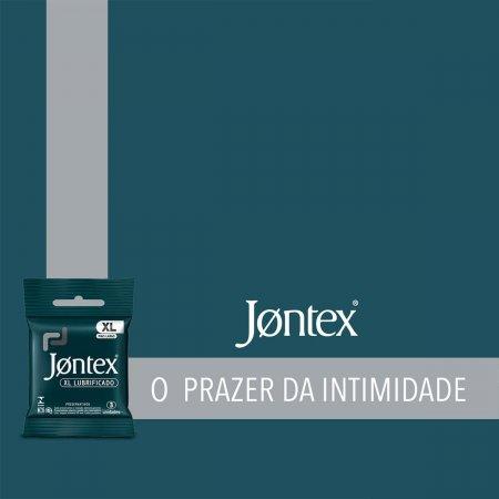 Preservativo Jontex Lubrificado XL
