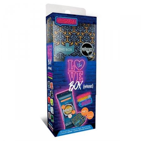 Preservativo Lubrificado Love Box Prudence Super Sensitive