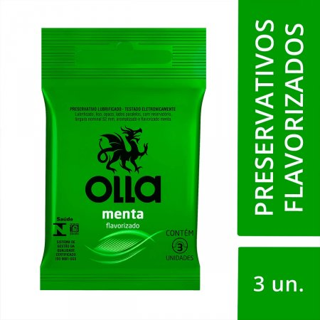 Preservativo Olla Menta
