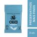 Olla Sensitive 3 unidades Preservativo | Drogasil.com Foto 2