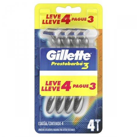 Aparelho de Barbear Gillette Prestobarba 3
