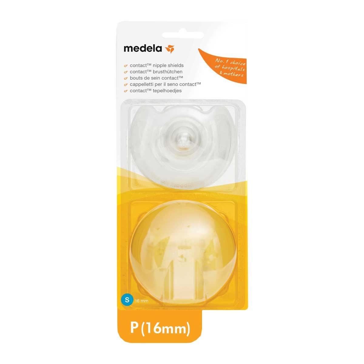 Protetor de Mamilo de Silicone Medela P 16mm 2 Unidades 2 Unidades