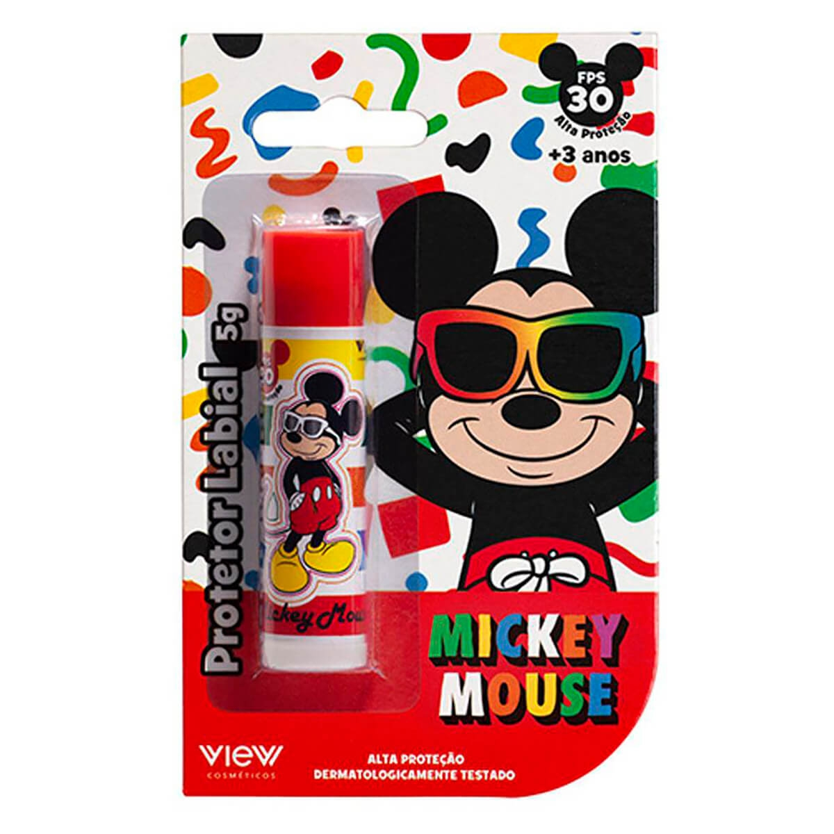 Protetor Labial View Mickey FPS30 5g