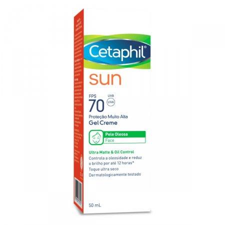 Protetor Solar Cetaphil Sun Gel Creme FPS70