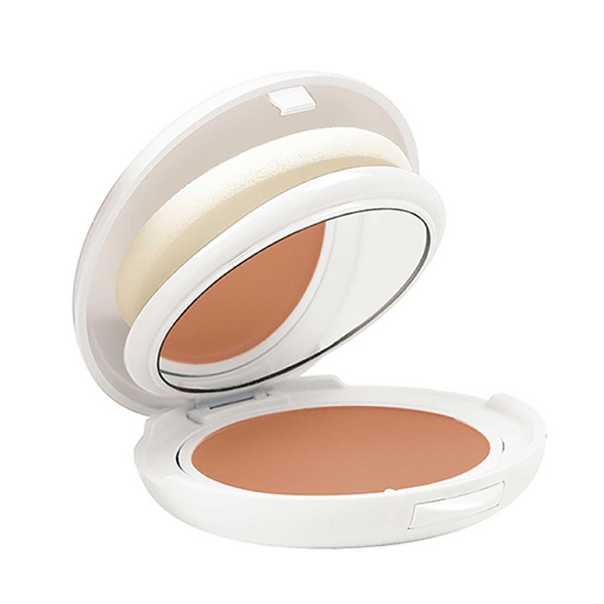 Protetor Solar Facial Compacto Avène Cor Sable Pele Clara FPS 50 com 10g 10g