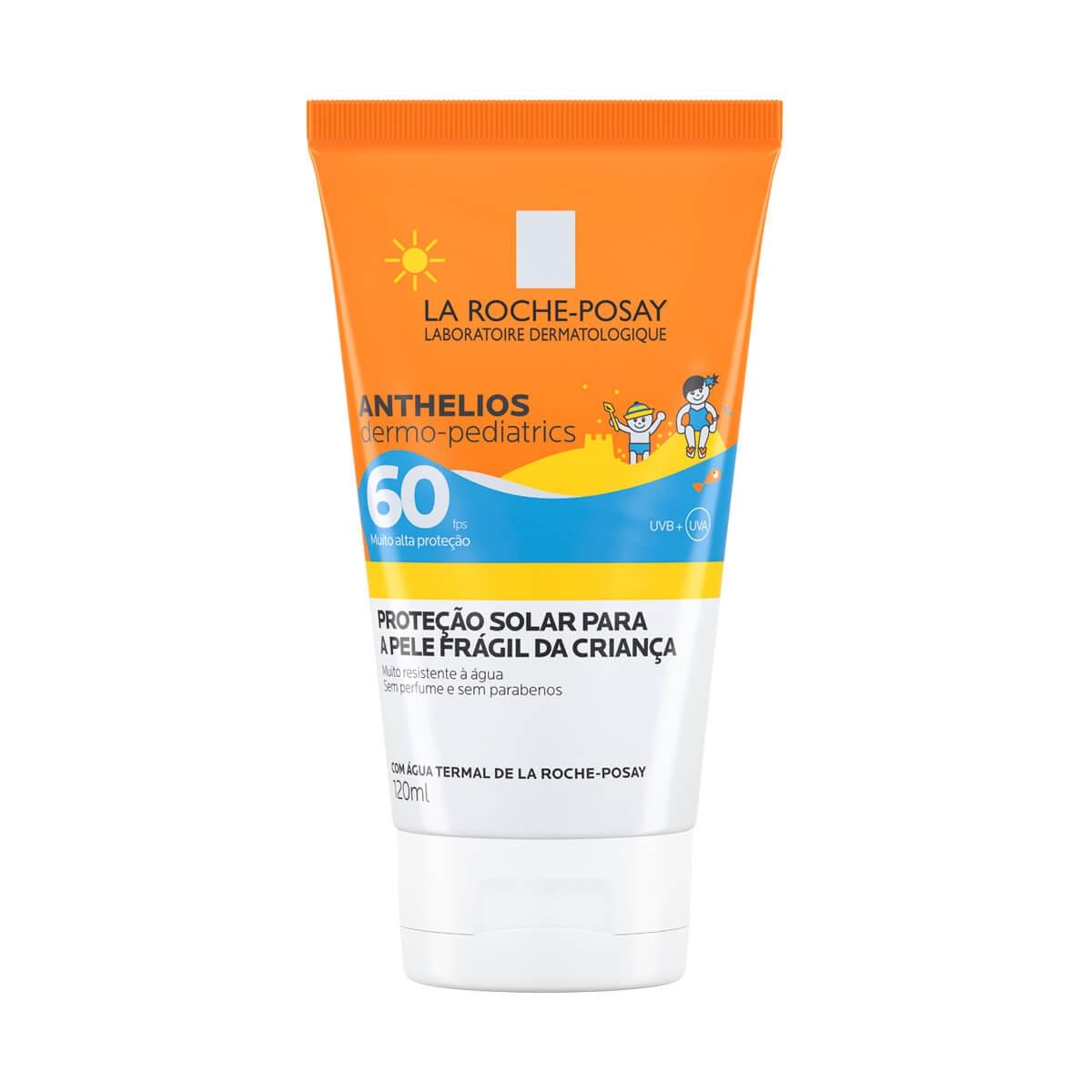 Protetor Solar Infantil La Roche-Posay Anthelios Dermo-Pediatrics FPS 60 com 120ml 120ml