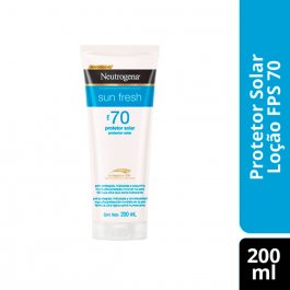 NEUTROGENA SUN FRESH PROTETOR SOLAR LOCAO FPS 70 200ML