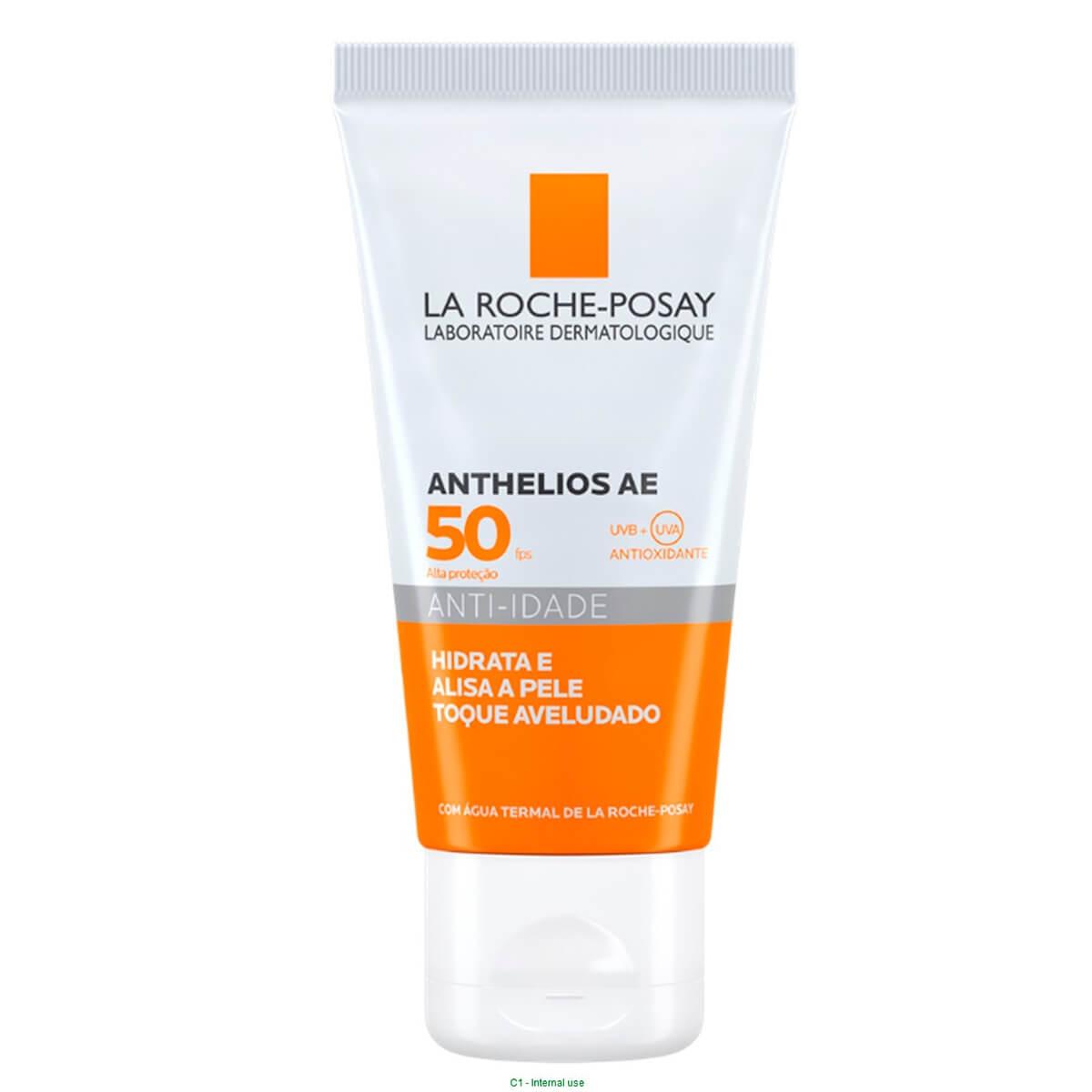 Protetor Solar Facial La Roche-Posay Anthelios AE Anti-Idade FPS 50 com 50g 50g