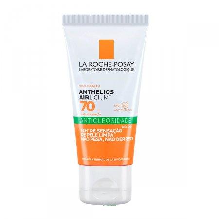 Protetor Solar Facial Anthelios Airlicium Antioleosidade FPS70 50g   Drogasil.com Foto 1