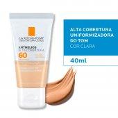 Protetor Solar Facial Anthelios Alta Cobertura Cor Clara FPS60