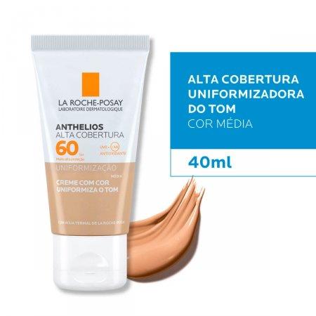 ANTHELIOS ALTA COBERTA MEDIA CREME FPS60 40ML