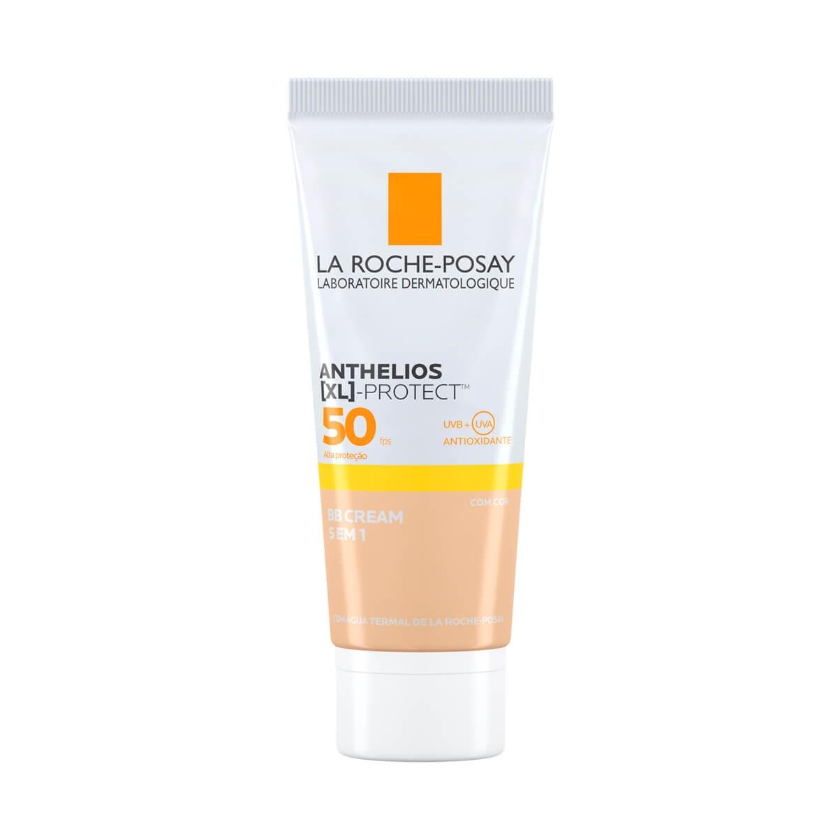 Protetor Solar Facial La Roche-Posay Anthelios BB Cream 5 em 1 Cor Universal FPS 50 com 40g 40g