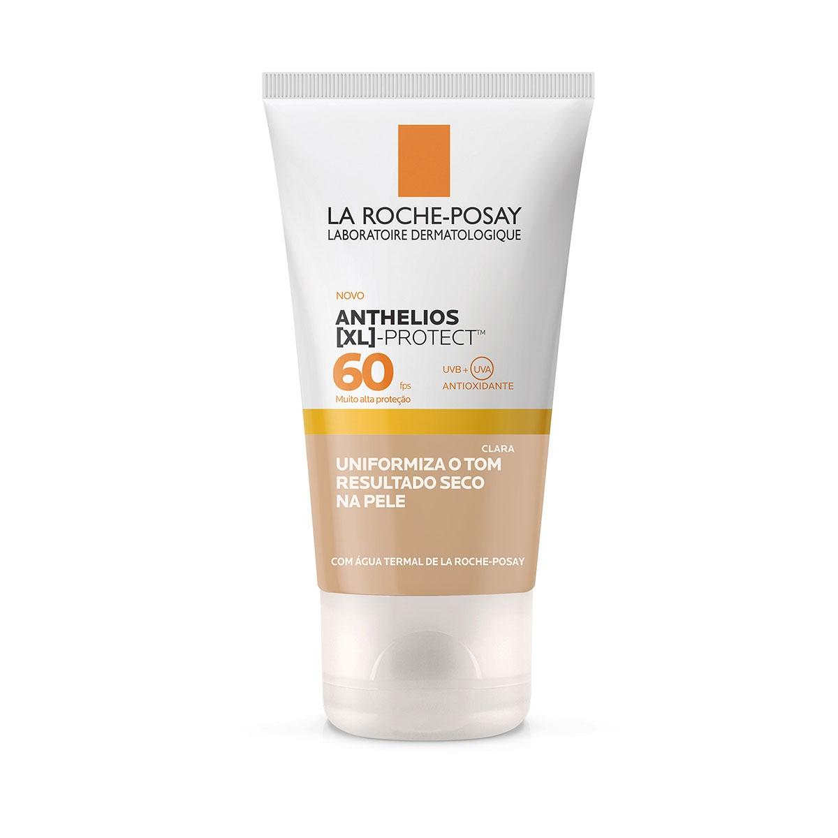Protetor Solar Facial La Roche-Posay Anthelios XL Protect Cor Clara FPS 60 com 40g 40g