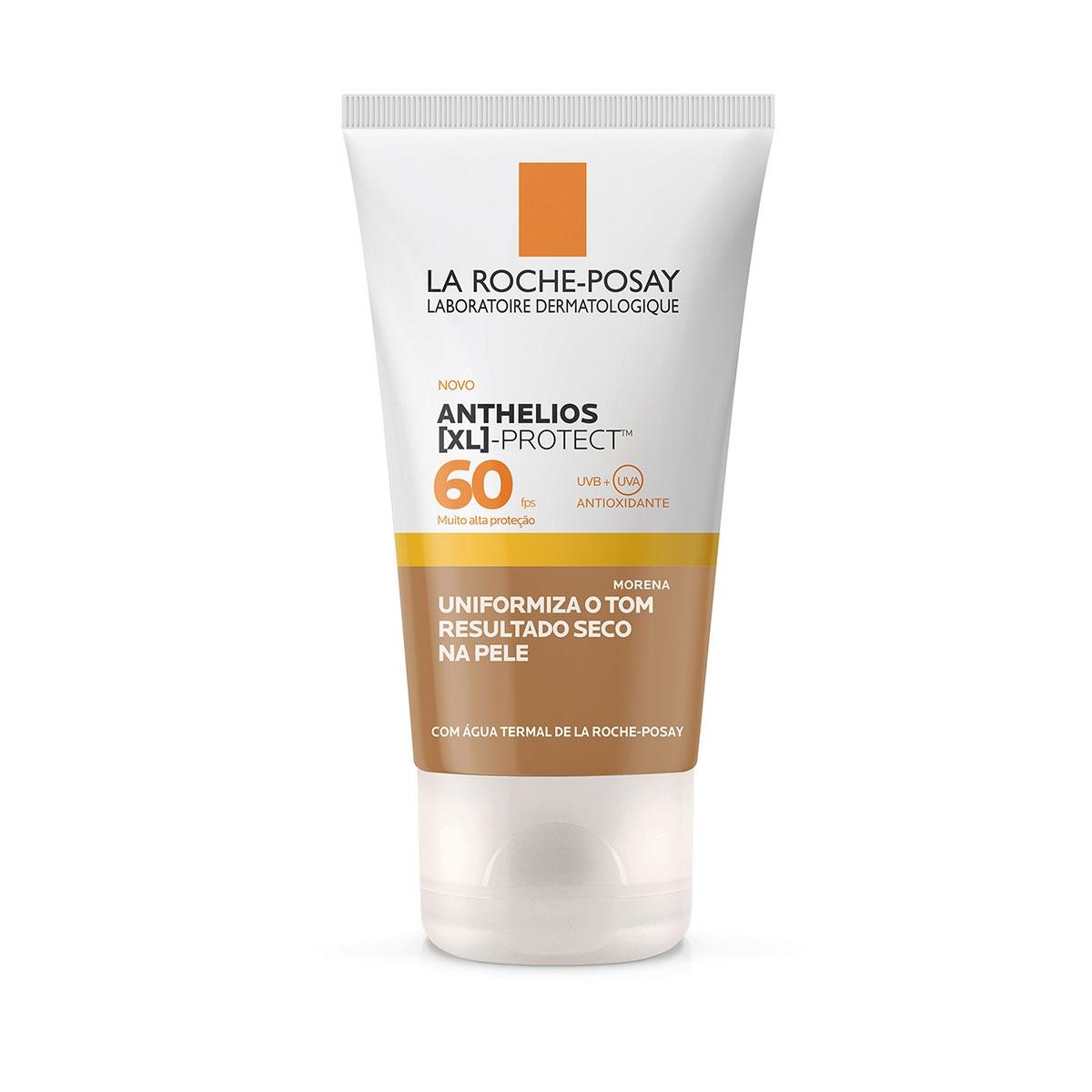 Protetor Solar Facial Anthelios XL Protect Cor Morena FPS60 La Roche-Posay 40g