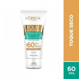 Protetor Solar Facial L'Oréal Expertise Toque Seco FPS60