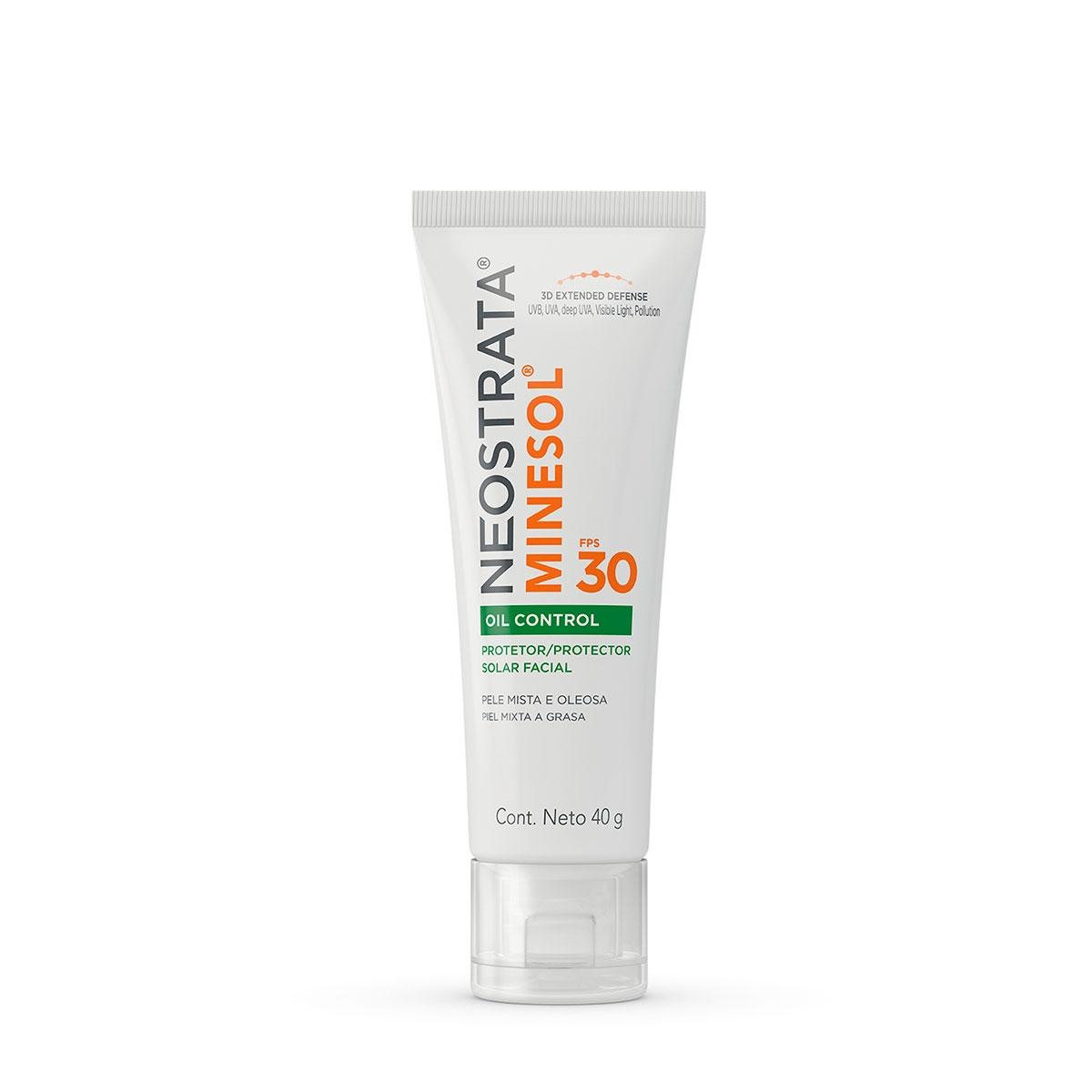 Protetor Solar Facial NeoStrata Minesol Oil Control Pele Oleosa FPS 30 com 40g 40g