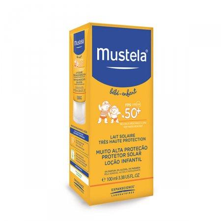 MUSTELA PROTETOR SOLAR INFATIL LOCAO FPS50 100ML