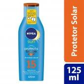Protetor Solar Nivea Sun Protect & Bronze FPS15
