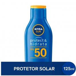 Protetor Solar Nivea Sun Protect & Hidrata FPS50 com 125ml