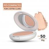 Protetor Solar Pó Compacto Pele Extra Clara Episol Color FPS 50 com 10g