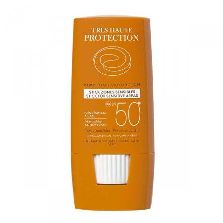 Protetor Solar Stick Avène Áreas Sensíveis FPS50+ 8g | Drogaraia.com Foto 1