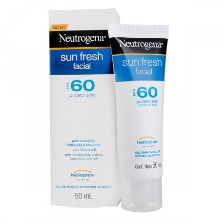 Protetor Solar Facial Neutrogena Sun Fresh FPS60