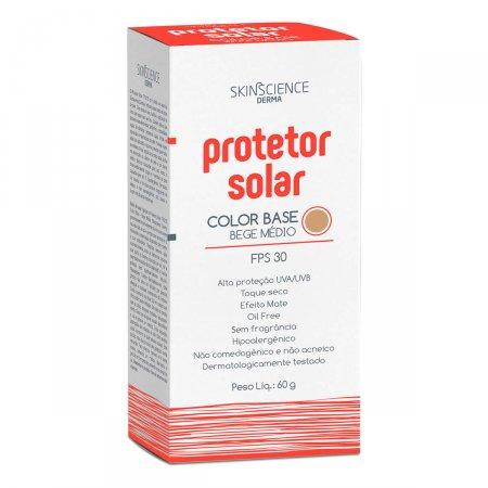 Protetor Solar Skinscience Color Base FPS30 Bege Médio