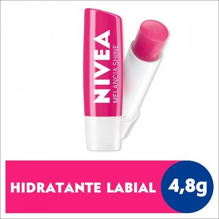 Hidratante Labial Nivea Melancia Shine com 4,8g