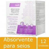 Absorvente Para Seios Needs Toque Suave