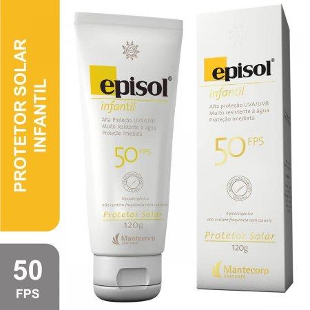 EPISOL PROTETOR SOLAR FPS 50 INFANTIL 120G