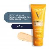 Protetor Solar Facial Idéal Soleil Clarify Cor Extra Clara FPS60