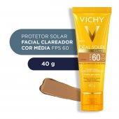 Protetor Solar Facial Idéal Soleil Clarify Cor Média FPS60