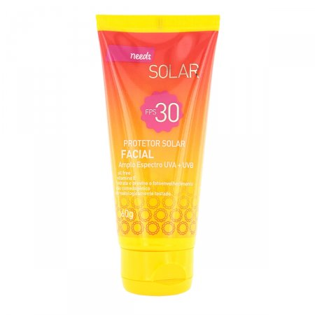 NEEDS PROTETOR SOLAR FACIAL FPS30 60G