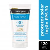 NEUTROGENA LOCAO PROTETOR SOLAR SUN FRESH FPS 30 120ML
